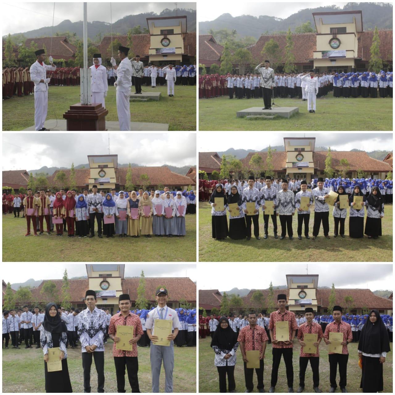 Pemberian Penghargaan GTK dan Siswa Berprestasi Pada Hari Guru Nasional Tahun 2019