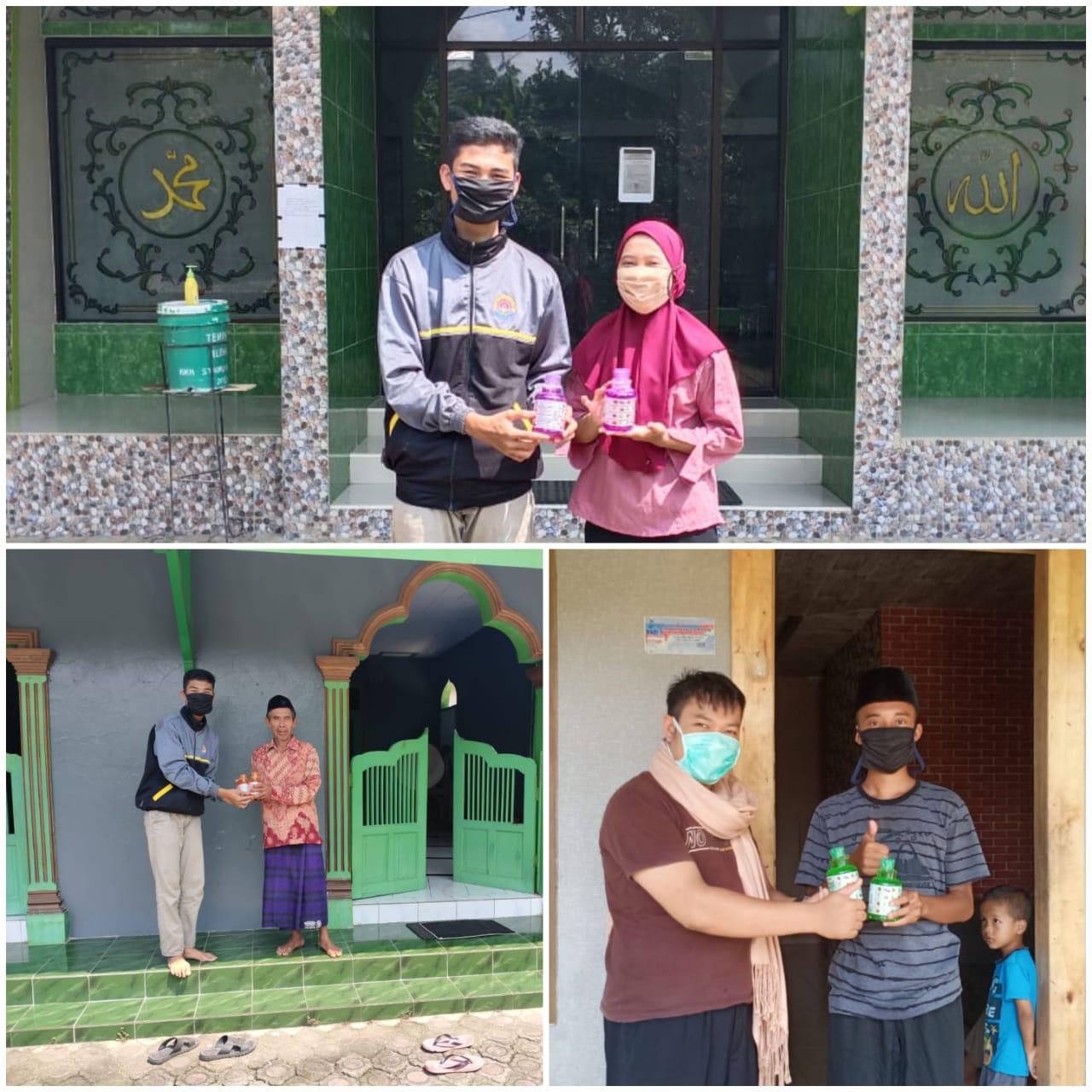 SMK Negeri 1 Karanggayam Membantu Masyarakat Sekitar Dalam Melawan Pandemi Covid-19